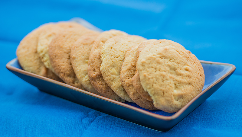 Wholemeal White Chocolate Cookies