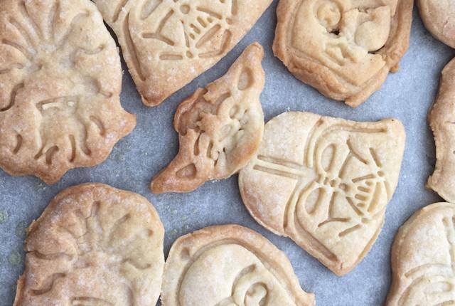 Darth Vader Vanilla Cookies